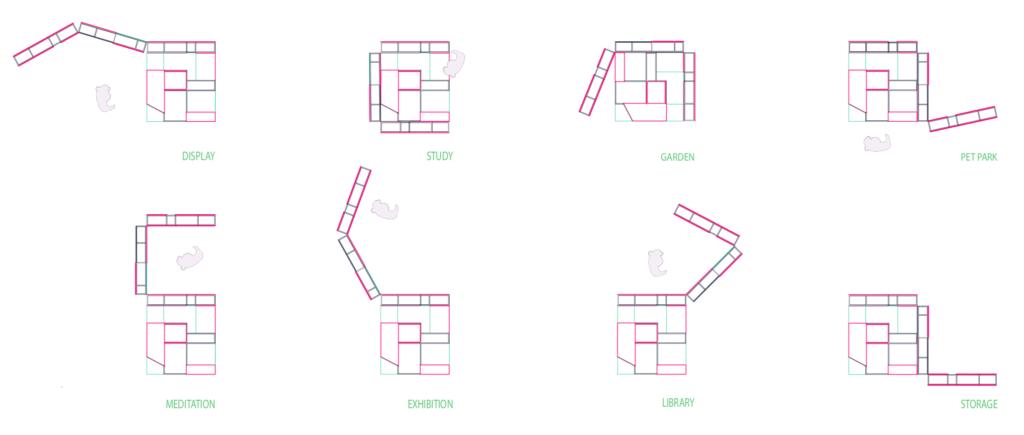 Urban Biombo Configurations