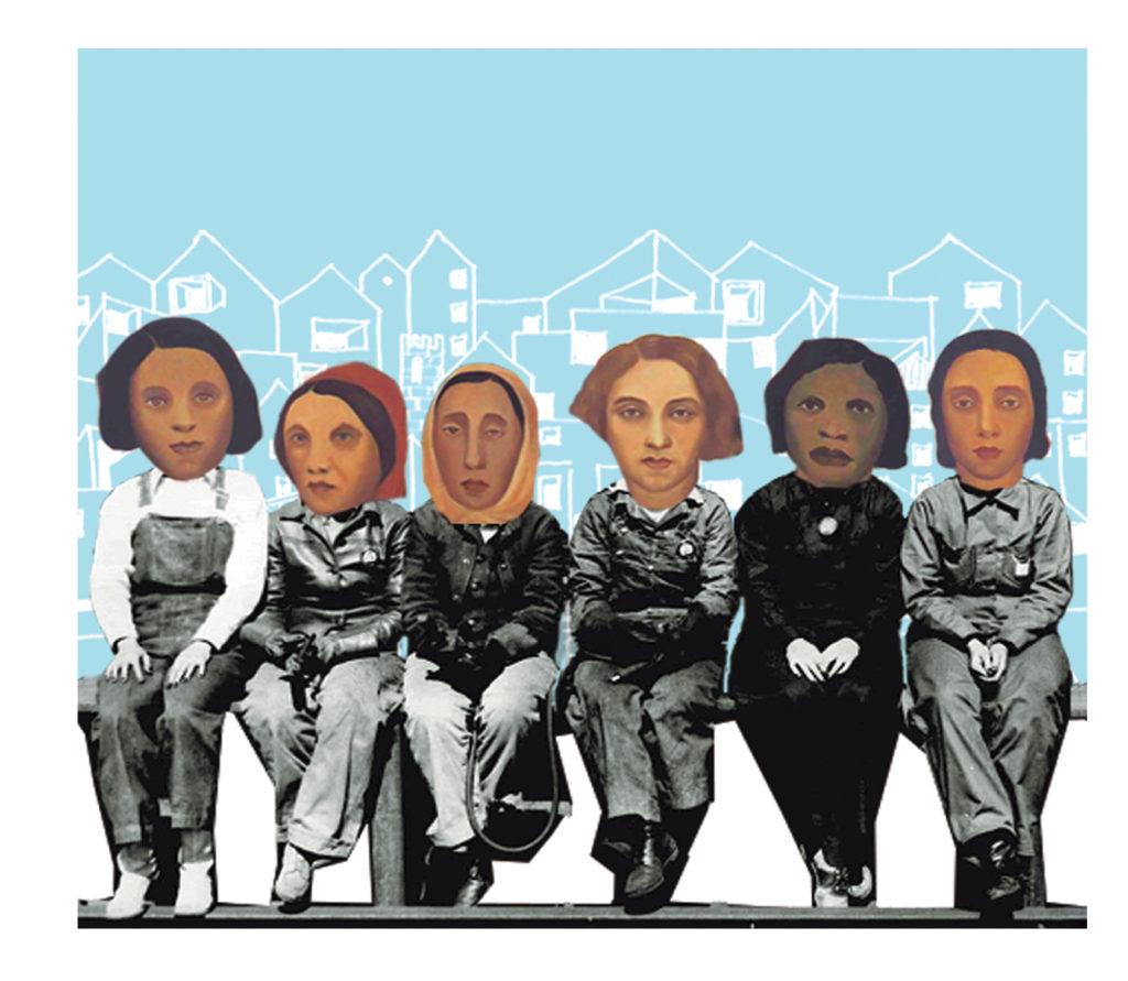 Collage Operários & Spencer Beebe I