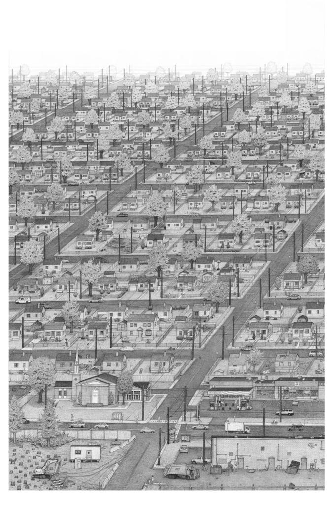 Suburbs, 2012. Image © Ben Tolman